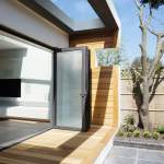 1088 contemporary extension porch