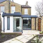 field lane glass corner extension