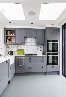 field lane grey kitchen